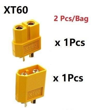 2 шт./набор XT30 XT60 XT90 штекер мужской женский пулевые Разъемы Вилки для RC Lipo батареи T штекер для самолетов аксессуары Запчасти - Цвет: Красный