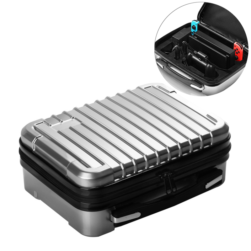 Sac de rangement valise pour nessa Switch coque rigide étui de protection pour Nintendo Switch Console NS voyage extérieur boîte de transport