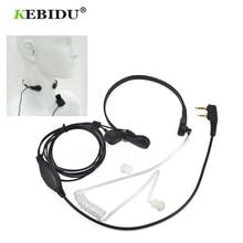 Throat Microphone Headset Vibration Walkie-Talkie UV-B5 Baofeng Kebidu for Uv-b5/Uv-b6/Bf-888s/..