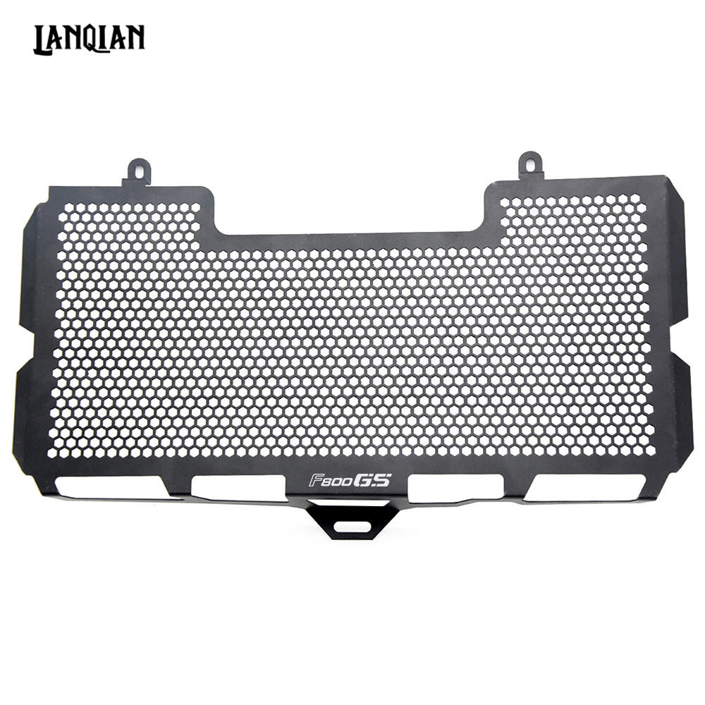 Motorcycle Radiator Guard Grille Cover Stainless Steel Cooler Protector For BMW F800GS 2008-2018 F800 GS F 800 GS Accessories motorcycle radiator protective cover grill guard grille protector for kawasaki z1000sx ninja 1000 2011 2012 2013 2014 2015 2016