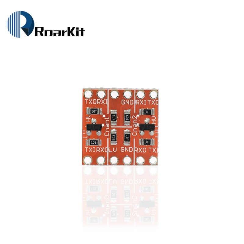 2 4 8 قناة IIC I2C المنطق مستوى محول ثنائية الاتجاه وحدة 5 فولت إلى 3.3 فولت لاردوينو متوافق اللوح