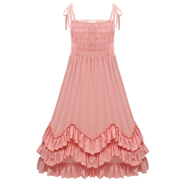 Everweekend Cute Girls Party Dress Cotton Party Dress