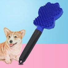 Pet меха расческа для собак и кошек для удаления волос щетка для домашних животных собака уход за домашними животными Кот Щетка для собак
