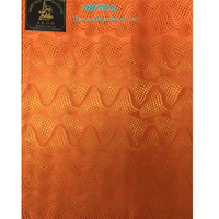 משלוח חינם/אופנה עיצוב גל כתום Ipele עניבת ראש Gele Headtie סגו האפריקאי מודפס עטיפת HGB790306 לבוש ראש לנשים