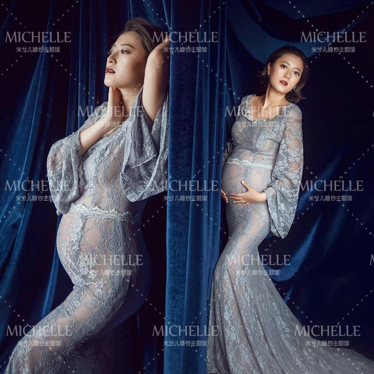 2018 photos of pregnant women clothing expectant mothers pregnancy photo Photography photo lace long maternity dress fr30 lady s skullies womail delicate pregnant mothers soft velvet cap maternal prevention wind hat w7