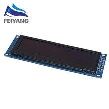 Реальный светодиодный дисплей 3,12 дюйма 256*64 25664 точек, графический ЖК модуль, экран LCM, экран SSD1322, контроллер с поддержкой SPI