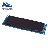 Real OLED Display 3.12 256*64 25664 Dots Graphic LCD Module Display Screen LCM Screen SSD1322 Controller Support SPI