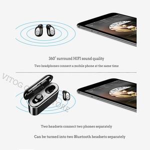 Image 4 - x8 Tws True Wireless Bluetooth Earphones Headset Waterproof ipx8 5.0 Mini Sports Earbuds Blutooth Earphone with Mic Charging Box