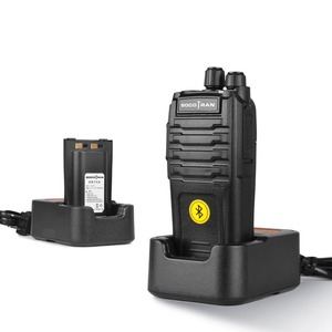Image 4 - Bluetooth Walkie Talkie 5W UHF 400 480MHz Gebaut in Bluetooth modul Portable Two way radio mit drahtlose Bluetooth headset 16CH