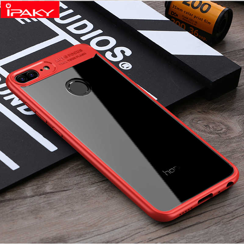IPAKY Phone Case Shockproof TPU+PC Cover On For Huawei Honor 9 9lite lite Honor9 Honor9lite 3/4/6 32/64/128 GB Bumper Light
