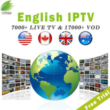 iptv subscription usa canada uk australia arabic albania 7000+live channels 17000+VOD IPTV for android tv box 4k ultra smart tv