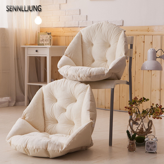 Thick Sofa Cotton Throw Pillows Back Cushions Seat For Sofas Kitchen Chair Floor Home Car Office Decor Luxury Fashion