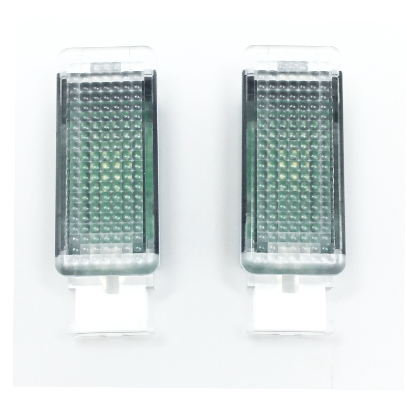 2Pcs OEM Original LED Footwell Light For Golf 6 Golf 7 Jetta MK5 MK6 Tiguan Passat B6 5G ...