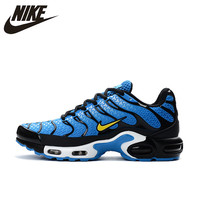 New Arrival Official NIKE AIR MAX TN Men's Breathable Running shoes Sports Sneakers platform KPU material Tennis shoes 40 46