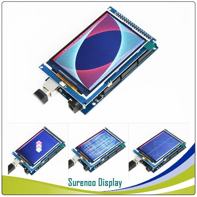 """3,2 """"/3,5"""" дюйма 480*320 TFT экран ЖК-модуля Дисплей ILI9481/ILI9486 контроллер для Arduino 16 бит Mega2560 STM32 C51"""