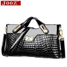 JOOZ designer sacs à main de haute qualité femme en cuir sacs à main Crocodile femmes sac Pour Femmes soirée Pochette Sac