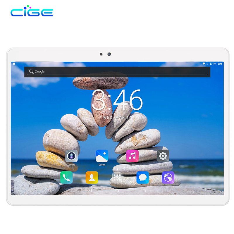 CIGE Phablet 10.1 Inch Android 7.0 Octa Core 4GB+64GB Dual Cameras SIM Card 3G LTE Tablets Mobile Tactile Tablet Pc WIFI GPSCIGE Phablet 10.1 Inch Android 7.0 Octa Core 4GB+64GB Dual Cameras SIM Card 3G LTE Tablets Mobile Tactile Tablet Pc WIFI GPS