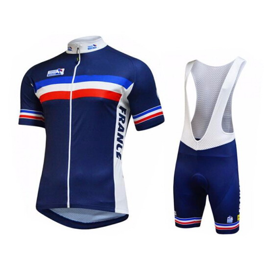 buy 2016 france national team short sleeve cycling jersey summer cycling wear. Black Bedroom Furniture Sets. Home Design Ideas