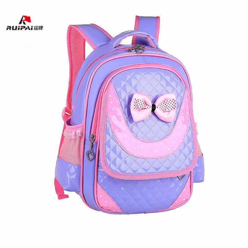 cute children school bags orthopedic backpack kids girls princess elementary schoolbags backpack baby backpacks bookbags rugzak