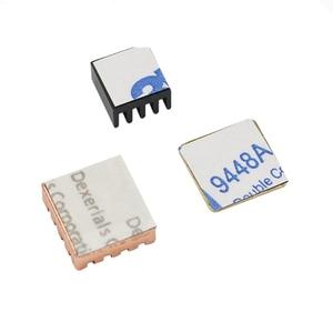 Image 4 - Raspberry Pi 3 Model B + Plus Heat Sink 1 Aluminum + 2 Copper with Logo Cooling Pad disipador Heatsink for Raspberry Pi 3 B+/3