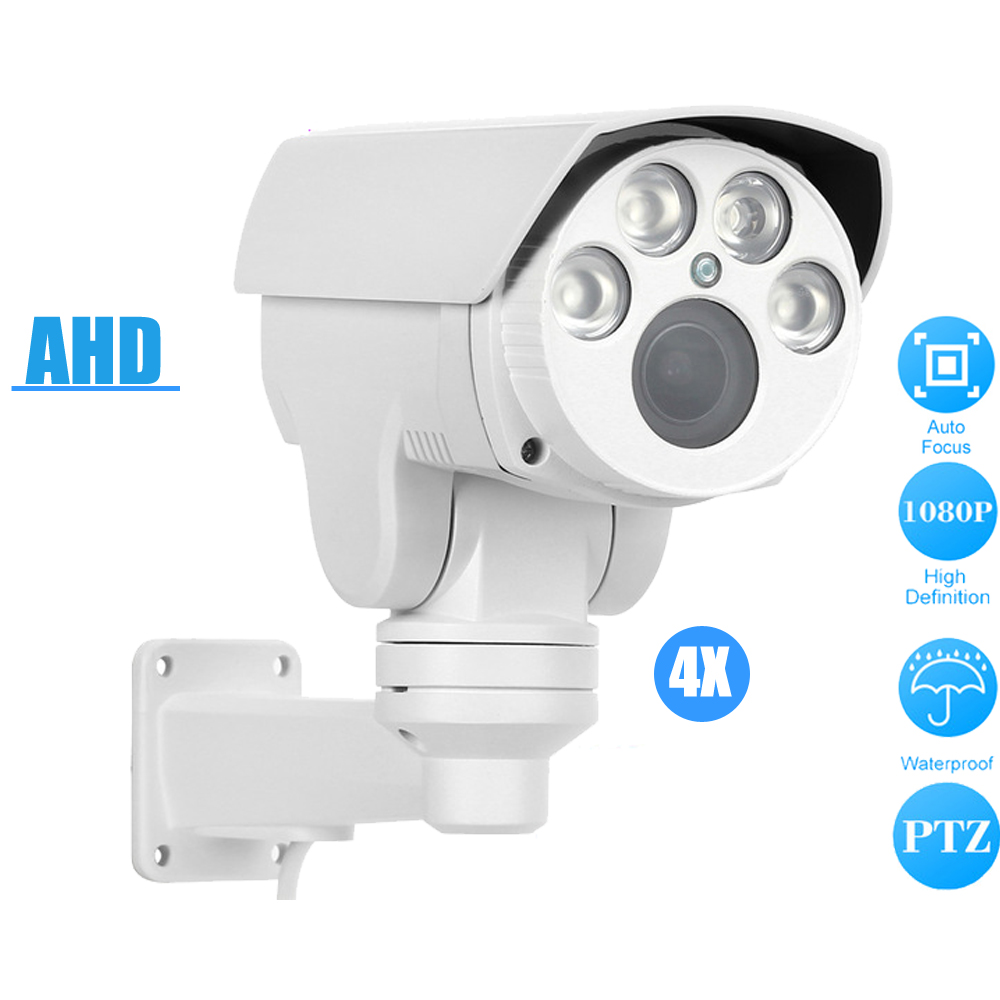 OwlCat/Sony HD 1080P Outdoor PTZ Bullet Analog High Definition AHD Camera 2MP 4X/10X Zoom Auto Focus IR Security CCTV CameraOwlCat/Sony HD 1080P Outdoor PTZ Bullet Analog High Definition AHD Camera 2MP 4X/10X Zoom Auto Focus IR Security CCTV Camera