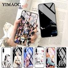 YIMAOC Demi Lovato Glass Case for Xiaomi Redmi 4X 6A note 5 6 7 Pro Mi 8 9 Lite A1 A2 F1