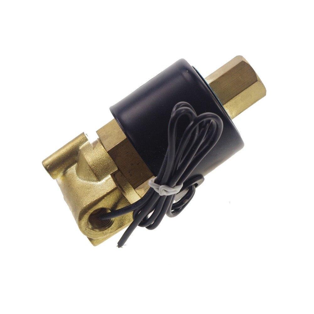 Ventil Heimwerker Elektrisches Magnetventil Wasser-luft N/o Ac220v 1/4 schließer Typ 2wk025-08 Wohltuend FüR Das Sperma