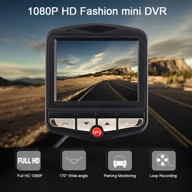Car Video Recorder with Night Vision