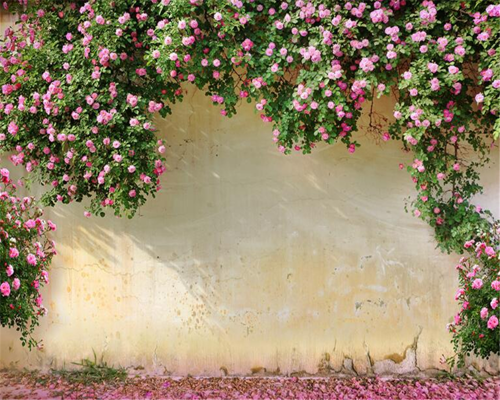 Купить с кэшбэком Beibehang 3D Wallpaper Rose Background Wall 3D Living Room Bedroom TV Background mural wallpaper for walls 3 d papel de parede