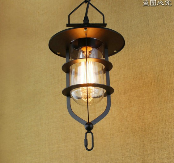 ФОТО American RH Retro Lampe Vintage Pendant Lights Fixtures LED Edison Loft Style Industrial Lamp Iluninalion Lamparas