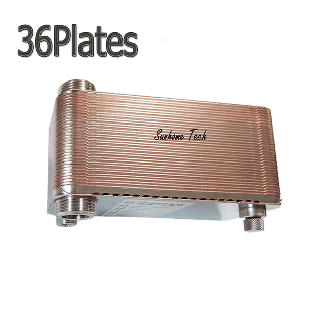 Brazed Plate Heat Exchanger 36 plates SUS304 Stainless Steel,small ...