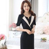 2016 Wool Good Quality Female Korean Version Of The New One Step Dress Slim Skirt Long