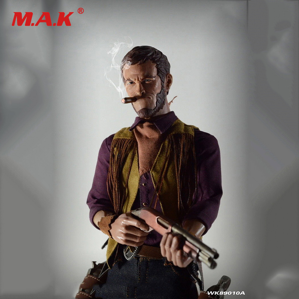 Free Shipping 1/6 Scale Male Full Set Action Figure WK89010A Western Story Redhead Danny Collectible Figure Model Toys for Gift collectible model toys 1 6 scale male full set action figure cowboy light coat ver doc holliday rm012 box set figure
