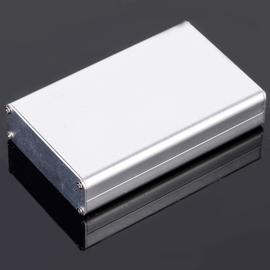 24x70x110mm Aluminum Instrument Box DIY Enclosure Case with Screw For Electronic Project e cap aluminum 16v 22 2200uf electrolytic capacitors pack for diy project white 9 x 10 pcs