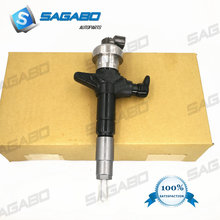 4pcs Diesel fuel injector 295050-1900 295050-0910 295050-0811 8-98260109-0 for I suzu D-max