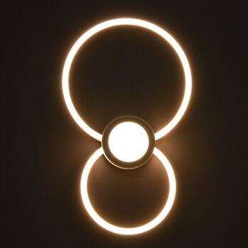 شحن مجاني 24W وحدة إضاءة LED جداريّة مصباح جدار داخلي شنت الجدار ضوء غرفة المعيشة غرفة الطعام ممر المنزل إضاءة ديكورية الشمعدان