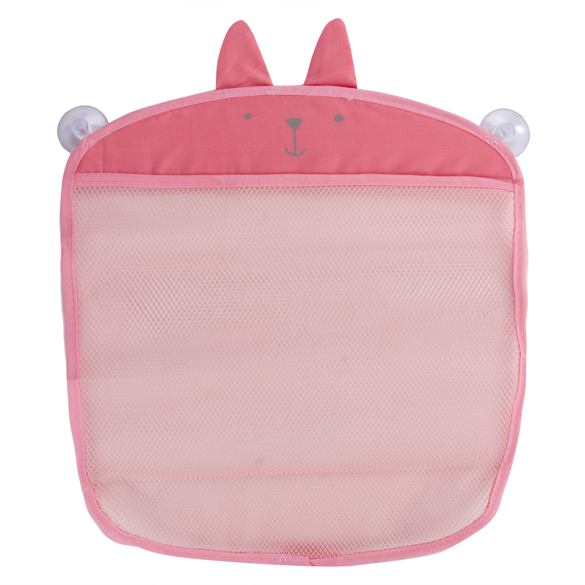Cartoon Bathroom Hanging Storage Bag Baby Kids Bathing Toy Storage Organizer Kitchen Folding Mesh Bag 35*39cm