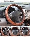 Cor mogno cobre no volante do carro para volvo s40 guarnição no volante para lada para granta