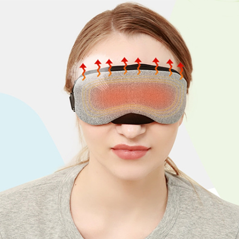 Image 2 - New Temperature Control Heat Steam Cotton Eye Mask Dry Tired Compress USB Hot Pads Eye Care Hot!-in Face Skin Care Tools from Beauty & Health