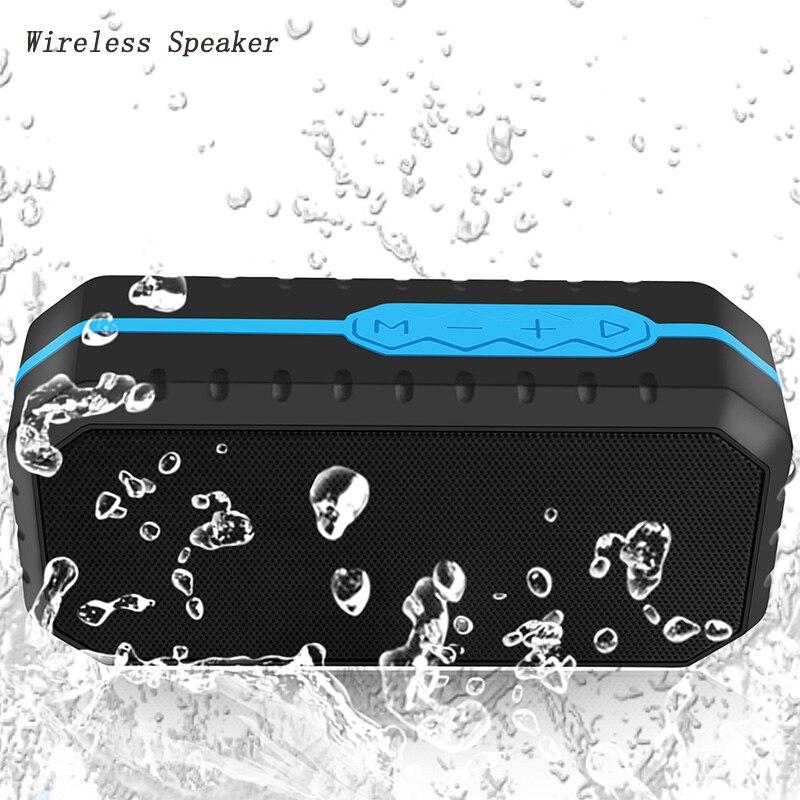 Sans fil bluetooth 4.1 haut-parleur Sport en plein air Étanche Portable haut-parleurs Stéréo Basse avec TF carte U disque slot