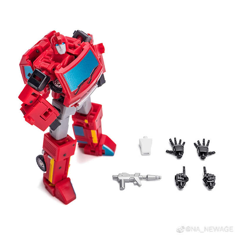 IN STOCK Transformation Newage NA H8T MILLER mini Ratchet Action figure Clear ve