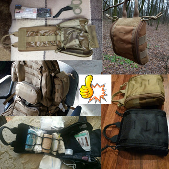 1000D Molle Tactical First Aid Kits Utility Medical Accessory Bag Outdoor Hunting Hiking Survival Modular Medic Bag Pouch 6