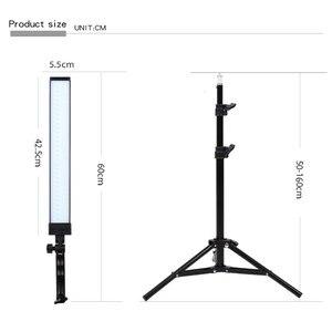 Image 2 - GSKAIWEN 180 LED Light Photography Studio LED Lighting Kit Adjustable Light with Light Stand Tripod Photographic Video FillLight