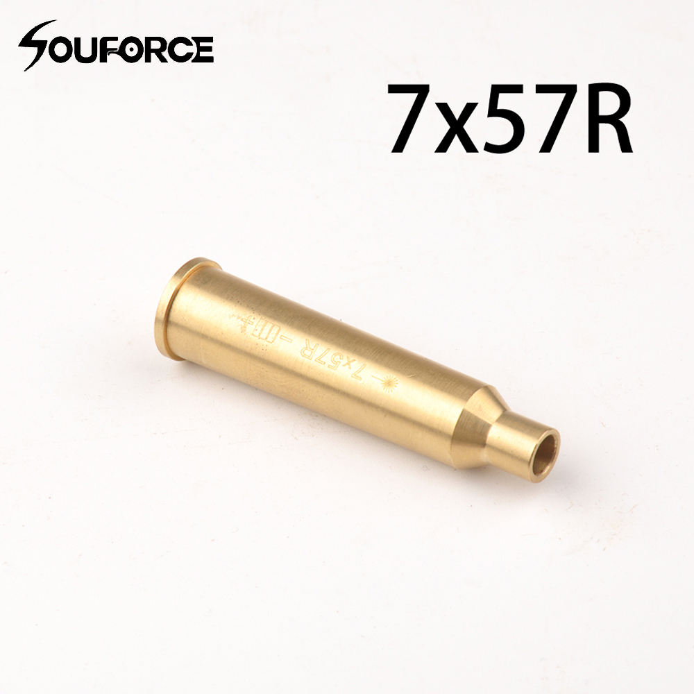 CAL:7x57R Bore Sight 7mm Brass Red Dot Laser Boresighter Hunting Accessory