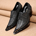 2017 New Men Dress Shoes Men's Evening Party Wedding Shoes Mens Handmade Patent Leather Shoes Lace Up Oxford Plus Size 38-46