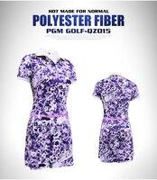 High quality!PGM counter genuine golf print dress ladies skirt sports clothing elastic Slim,Free shipping