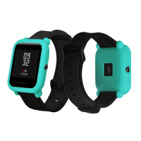 FIFATA Protective silicone soft case For Xiaomi Huami Amazfit Bip Bit youth Watch Replace Cover for Amazfit Watch Accessoriess