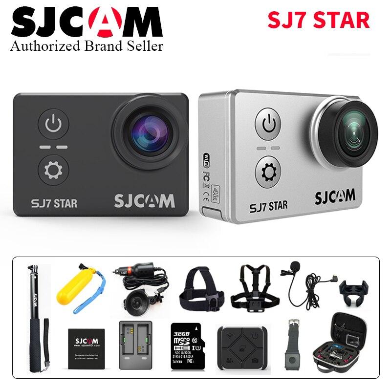 SJCAM SJ7 Star WiFi 4 K 30 P 2 'écran tactile Action à distance casque Sport caméra étanche Ambarella A12 puce caméscope SJCAM SJ7