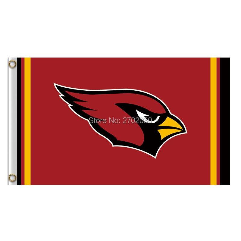 Red Bird Arizona Cardinals Flag World Series Football Team 3ft X 5ft Banner Super Champions Fan Arizona Cardinals Banner Flag
