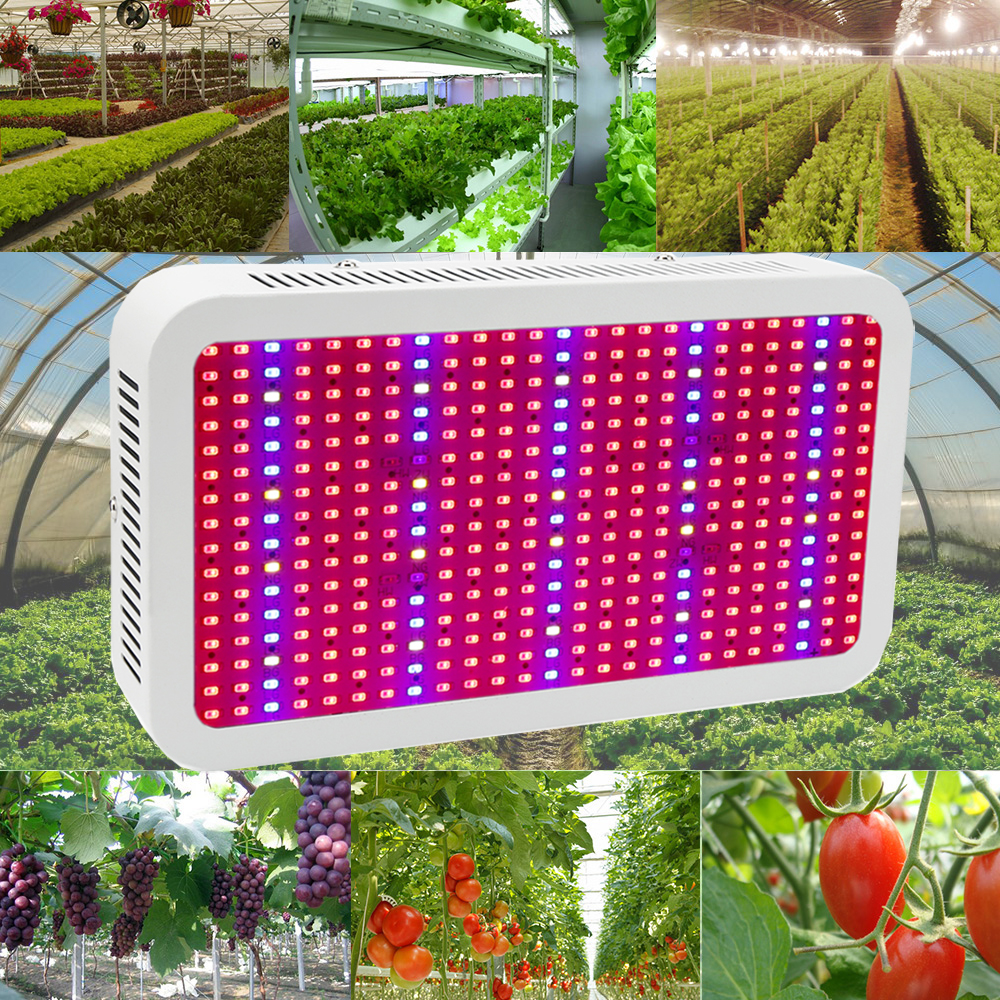 Full Spectrum Led Grow Light 400W Led Grow Lamp Red+Blue+Warm white+White+IR+UV Hydroponics System Flower Plant Grow Box Tent lan mu led grow light e14 e27 mr16 gu10 full spectrum led bulb plant lamp red blue uv ir for grow tent greenhouse grow lighting